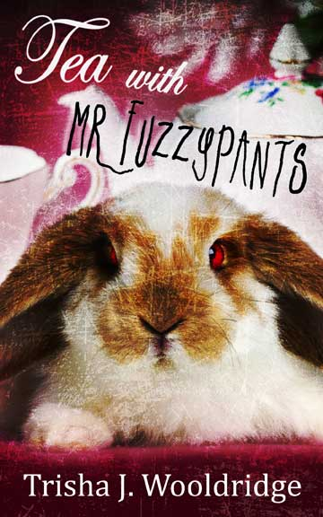 The Cover of the book Tea with Mr. Fuzzypants by Trisha J. woolridge